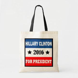 Hillary Clinton för presidenten 2016 Tygkasse
