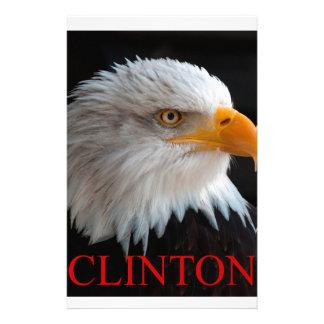 Hillary Clinton örn Brevpapper