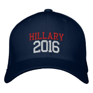 Hillary Clinton president 2016 Broderad Baseball Keps