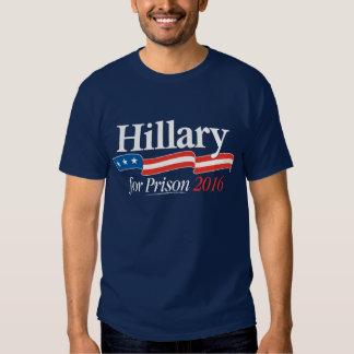 Hillary för den fängelseT-tröja 2016 T Shirt