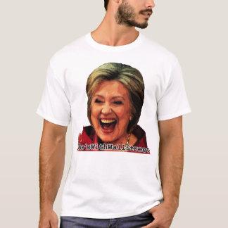 Hillary Hashtag: Hon är med wall street T Shirts
