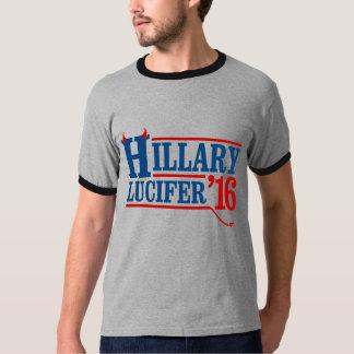 Hillary Lucifer 2016 - - Anti-Hillary - T Shirts