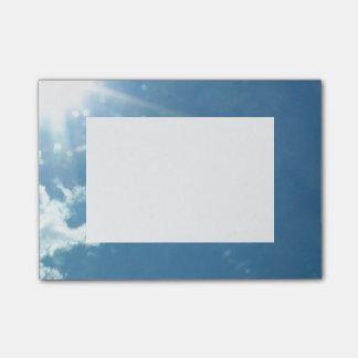 Himmel 5992 - Sol och moln Post-it Lappar