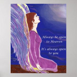 Himmel alltid öppna affisch