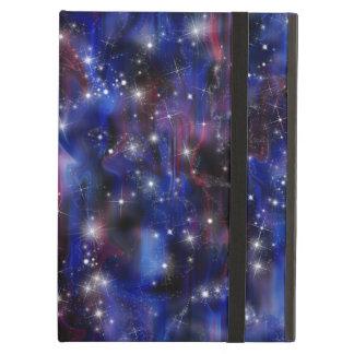 Himmel för den purpurfärgade härliga natten för fodral för iPad air