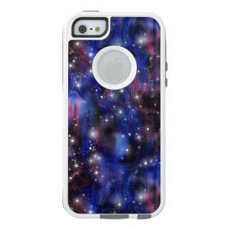 Himmel för den purpurfärgade härliga natten för OtterBox iPhone 5/5s/SE fodral