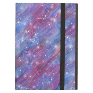 Himmel för den rosa härliga natten för galaxen fodral för iPad air
