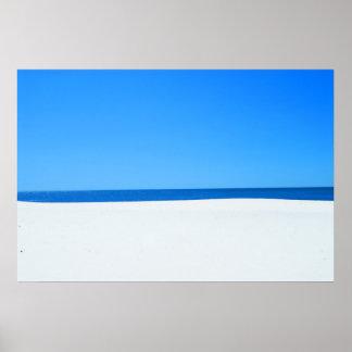 Himmel havet & Sand för… Poster
