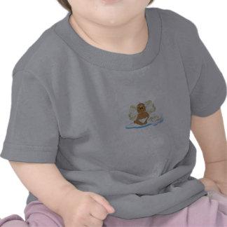 Himmel överförd pojke t-shirts