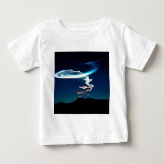 Himmel Traillaunch på vit Sands Mexico T-shirts