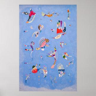 Himmelblått | Wassily Kandinsky Poster