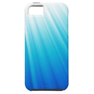 Himmelska ljusa blått för Ombre vitaqua iPhone 5 Skydd