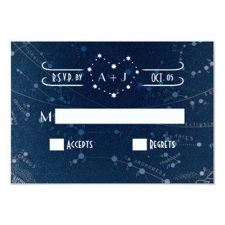 Himmelskt bröllop OSAkort 8,9 X 12,7 Cm Inbjudningskort