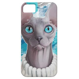 Himmlar i ögonen (den Sphynx katten) iPhone 5 Fodraler