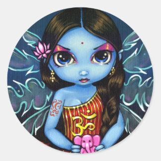 """""""Hinduisk felik"""" klistermärke"""