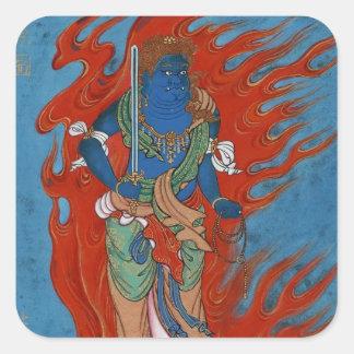 Hinduisk Folklore Fyrkantigt Klistermärke