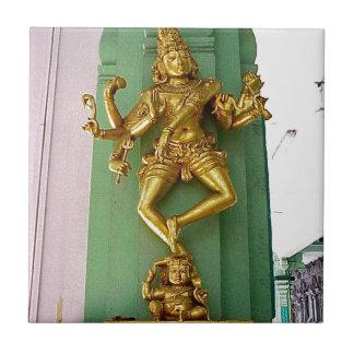 Hinduisk gud kakelplatta