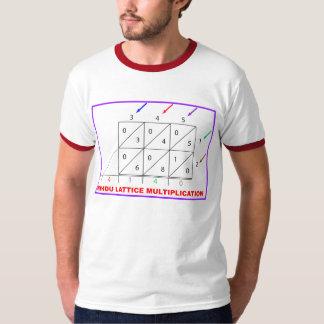 Hinduisk multiplikation, hinduiskt galler, sikt t-shirt