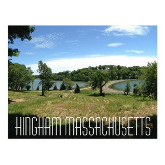 Hingham Massachusetts vykort
