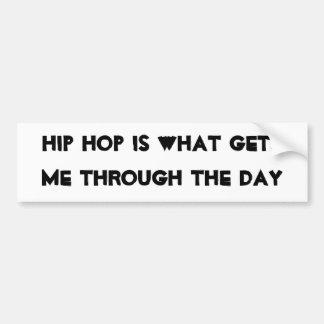 Hip hophjälp bildekal