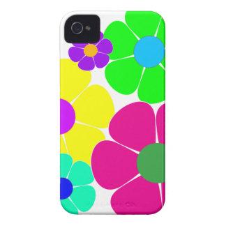 Hippie Flowers.gif iPhone 4 Fodraler