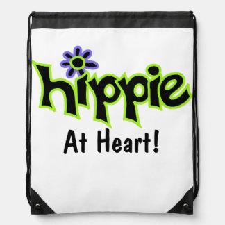 Hippie på anpassningsbar för konst för grönt för gympapåse
