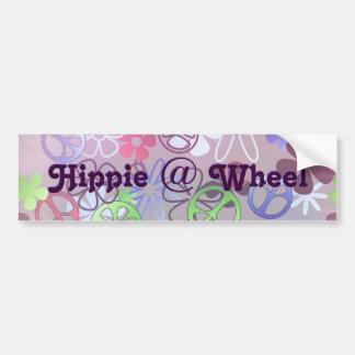 Hippien på rullar bildekalet bildekal