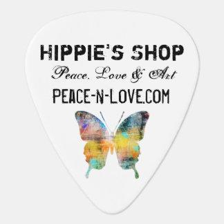 Hippie'sen shoppar befordrings- värderar fjärilen plektrum