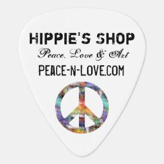 Hippie'sen shoppar befordrings- värderar plektrum