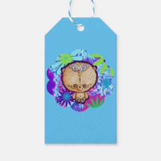Hippy björn presentetikett