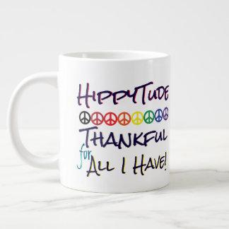 HippyTude som är tacksam för alla som jag har Jumbo Mugg