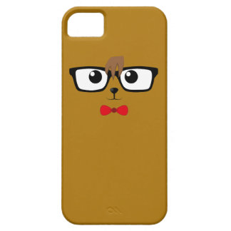 Hipster Bear case iPhone 5 Case-Mate Skydd