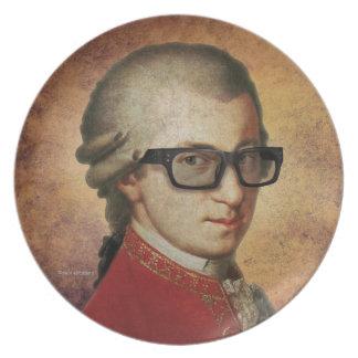 Hipster Mozart Tallrik