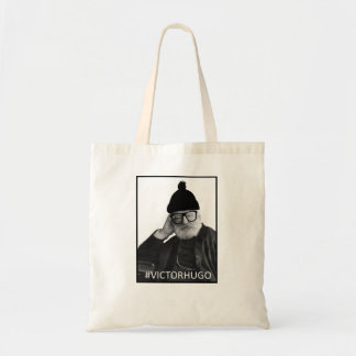 Hipster Victor Hugo Tygkasse