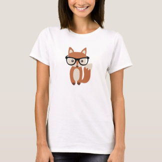 Hipsterbabyräv w/Glasses Tröjor