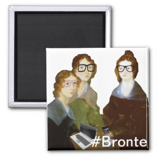 HipsterBronte systrar Magnet