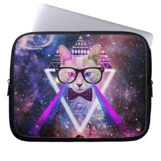Hipstergalaxkatt Laptop Sleeve