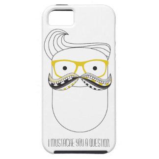 Hipstermustasch iPhone 5 Skydd