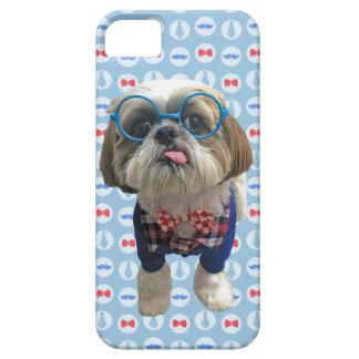 HipsterShih Tzu hund iPhone 5 Skal
