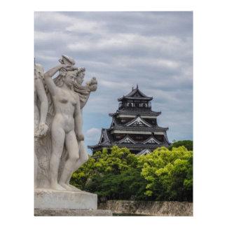 Hiroshima slott brevhuvud