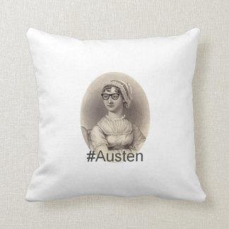 Hispter Jane Austen Kudde