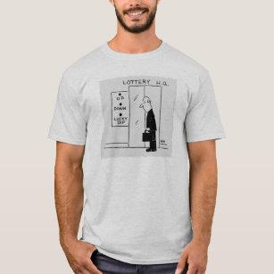 Hiss-knappar på Lottery H.Q.  Tecknad T Shirt