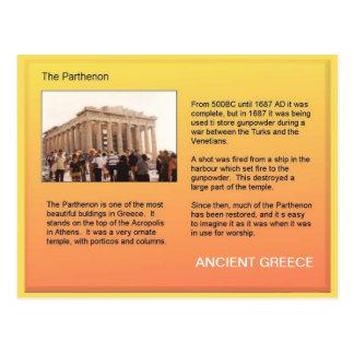 Historia forntida Grekland, Parthenon Vykort