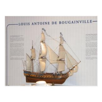 Historia utforskare, Louis Antoine de Vykort
