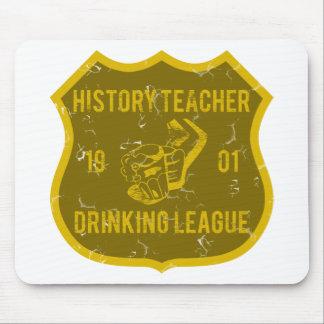 Historielärare som dricker ligan musmatta