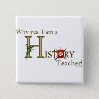 Historielärare Standard Kanpp Fyrkantig 5.1 Cm