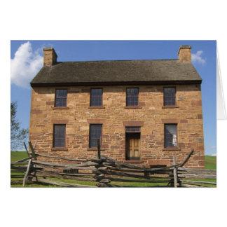 Historisk byggnad: Manassas slagfält, Virginia Hälsningskort