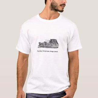 Historisk diligens av gränsen Amerika Tee Shirts