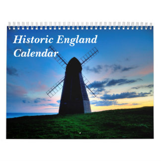 Historisk England kalender