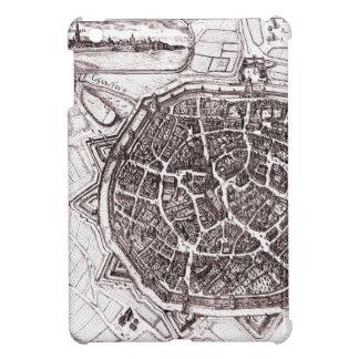Historisk karta av Nordlingen, Tyskland i 1651 iPad Mini Mobil Fodral